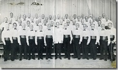 barbershop choir