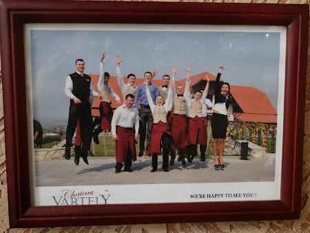 Drumul vinului -Basarabia: Angajatii Chateau Vartely