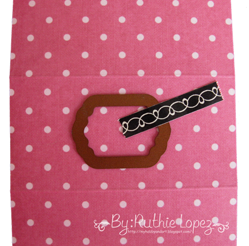 Kleenex Card Tutorial - Get well card - Inky Impressions - Ruthie Lopez DT 3
