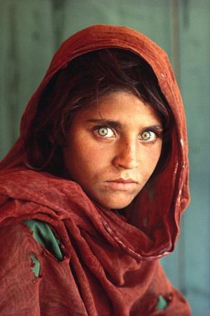 A menina afegã, a foto mais famosa do mundo