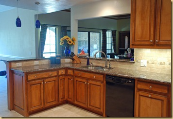 kitchen maple cabinets
