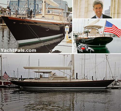 John kerry yacht in RI