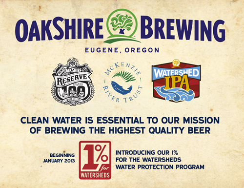 image courtesy Oakshire Brewing