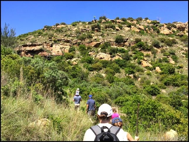 Hiking at Lionsrock