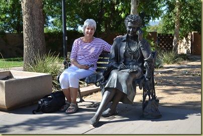 Julia Resting (and Pat)