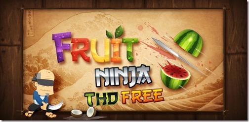 Fruit Ninja THD Free