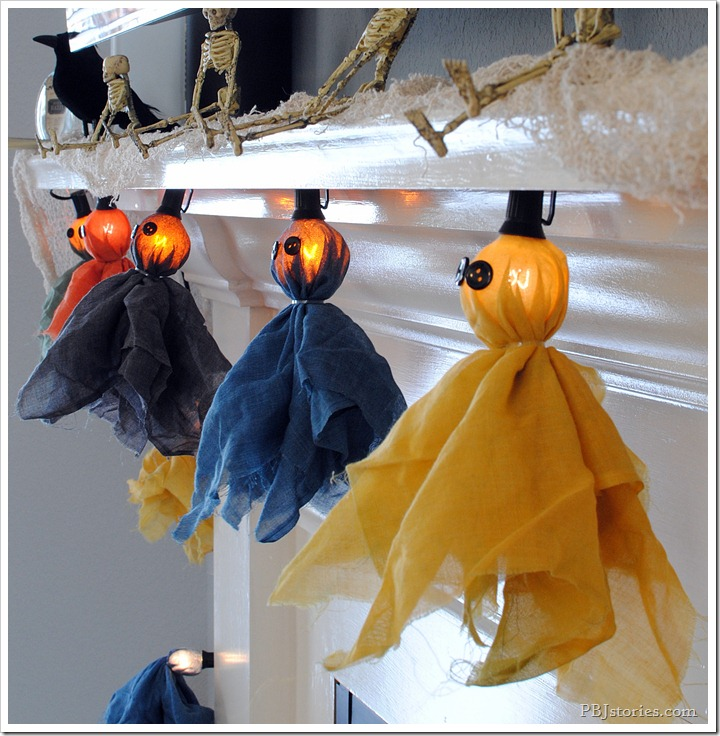 PBJstories Halloween Garland RIT Dye 4
