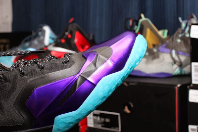nike lebron 11 id production hornets 1 02 NIKEiD LeBron 11 Summit Lake Hornets Build by PPumper