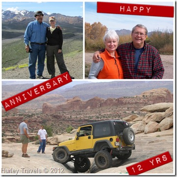 Jerry and Nancy's 12th Anniversary