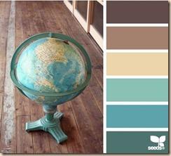 color scheme globe