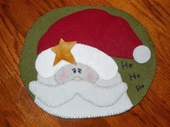 ho ho ho table mat