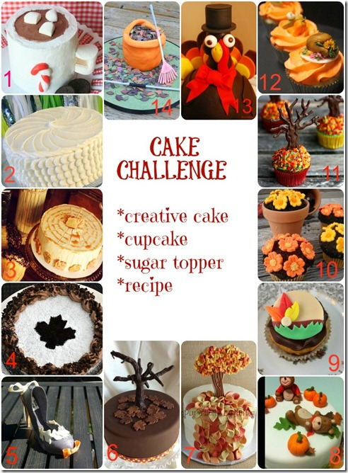 Cake Challenge Collage