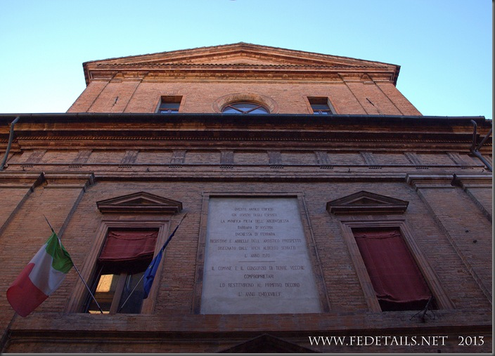 San Cristoforo dei Bastardini, Photo1,Ferrara,Emilia Romagna,Italy - Property and Copyrights of FEdetails.net