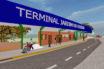 Jd. do Colégio: Prefeitura faz 6º terminal de ônibus da cidade