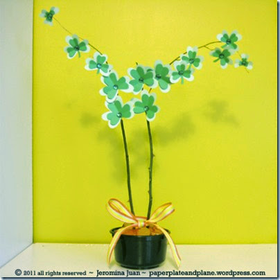 potted-paper-shamrock