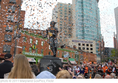 'Dedication of the Brooks Robinson Sculpture' photo (c) 2011, Maryland GovPics - license: http://creativecommons.org/licenses/by/2.0/