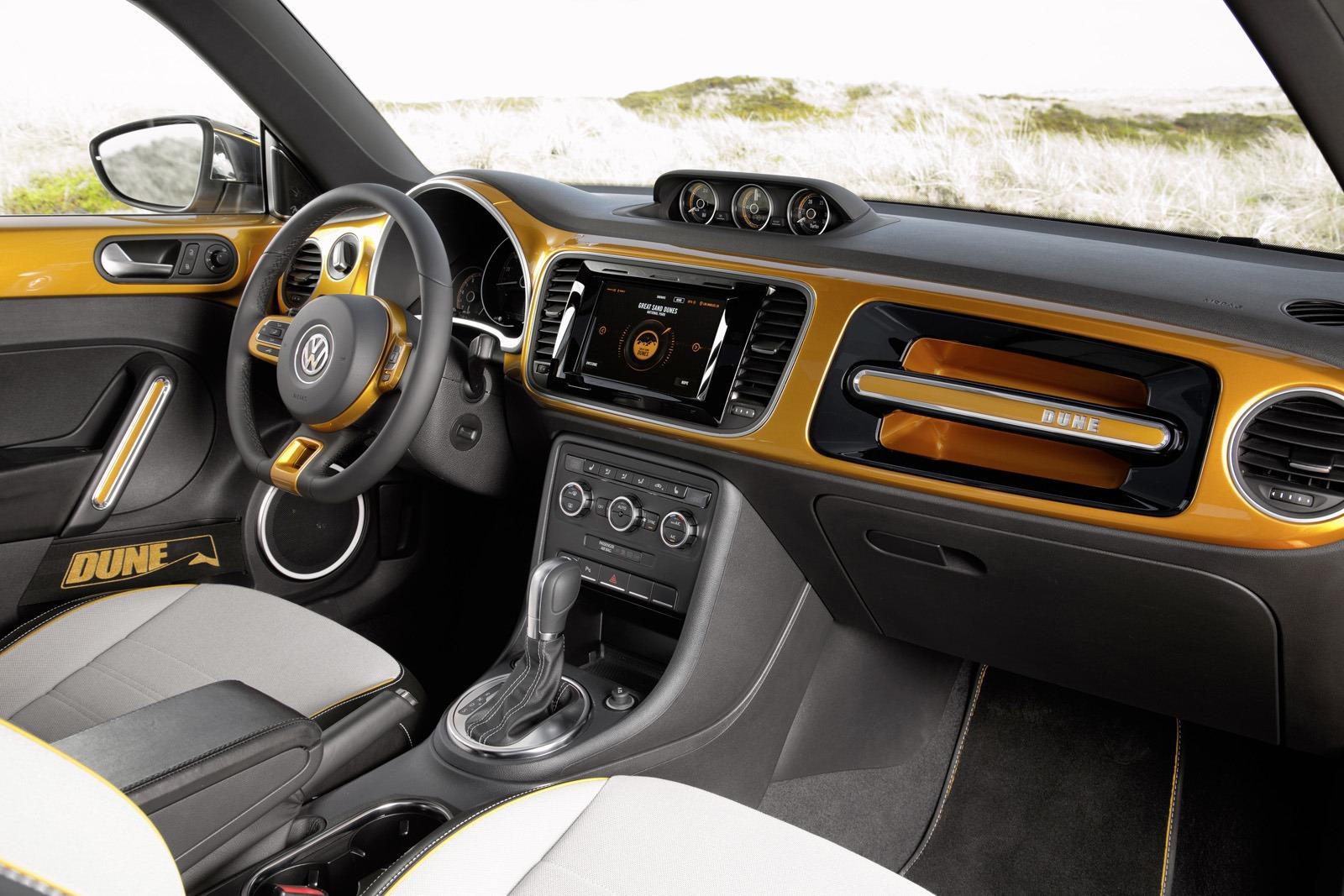 Фото | Салон VW Beetle Dune 2014 года