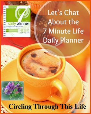 The 7 Minute Life Daily Planner is more than time management tool. It's a strategy to acomplish your goals. Read Tess's review at Circling Through This Life