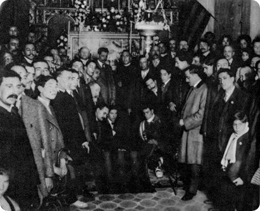 1913-02-09 Primer homenatge a Sant Boi