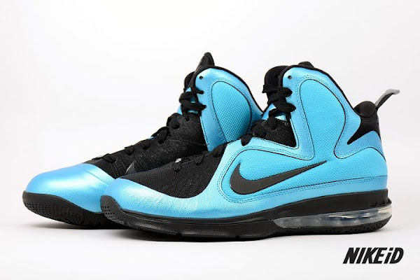 Nike LeBron 9 iD Five Different Real Shoe Samples