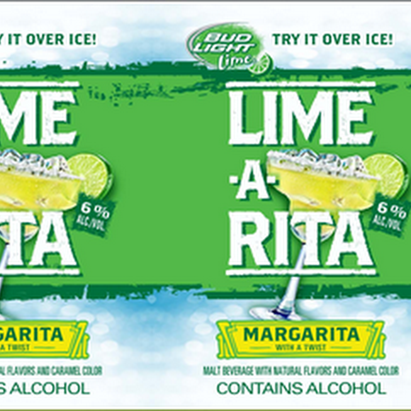 Anheuser-Busch Bud Light Lime-A-Rita 8oz Can (247 calories per 12oz)