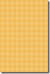 iPhone Wallpaper - Peachy Orange Houndstooth - Sprik Space