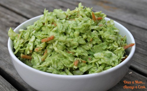 Avocado and Tomatillo Slaw