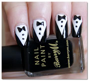 tuxedo-nails