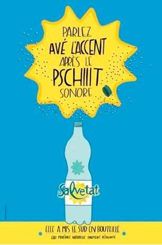 publicitat ambe l'accent occitan Salvetat