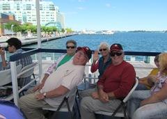 1307126 July 24 Marcia Dick Bill Ann On Ferry