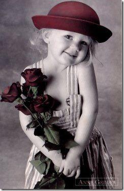 niña con flores (7)