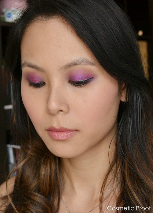 MAKE UP FOR EVER Artist Shadows Makeup Look (2)