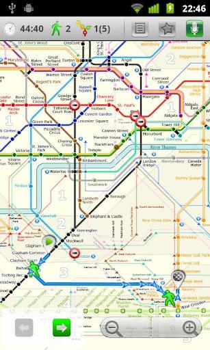 London tube + NR Metro 24