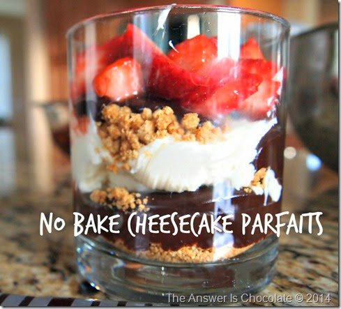 Cheesecake Parfait Text