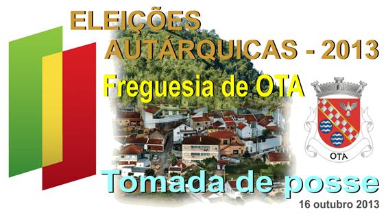 Elecoes Autarquicas - 2013 - tomada de posse