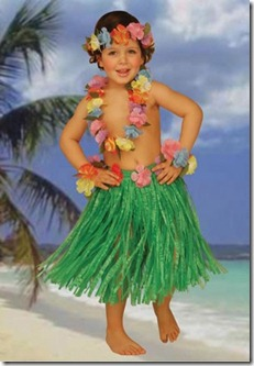 hawaiian kids set lg