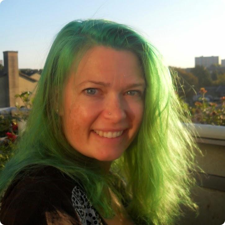 Grønt hår er sjovt