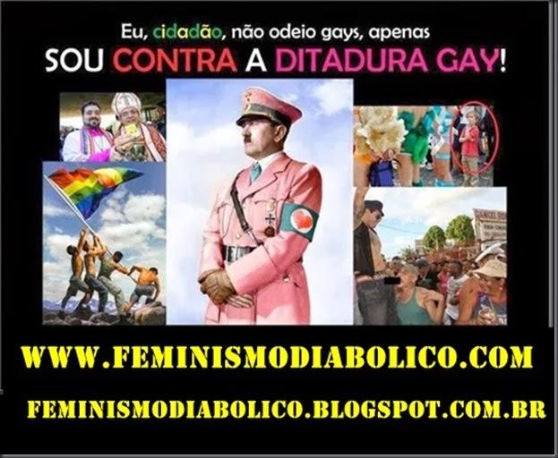 Ditadura Gay com propaganda