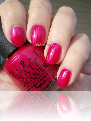 OPI I'm All Ears (Minnie Mouse collection) 2