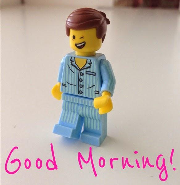 Emmet says Good Morning