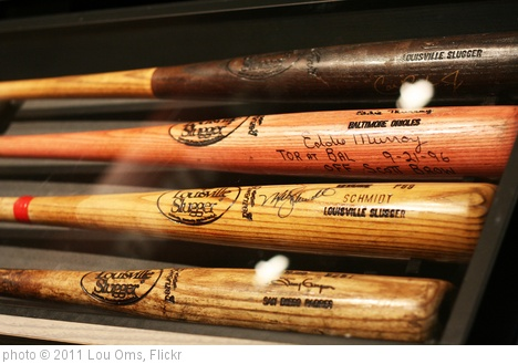 'More legendary player game bats' photo (c) 2011, Lou Oms - license: http://creativecommons.org/licenses/by/2.0/