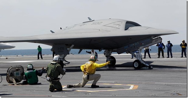 US Navy Stealth DRone2013