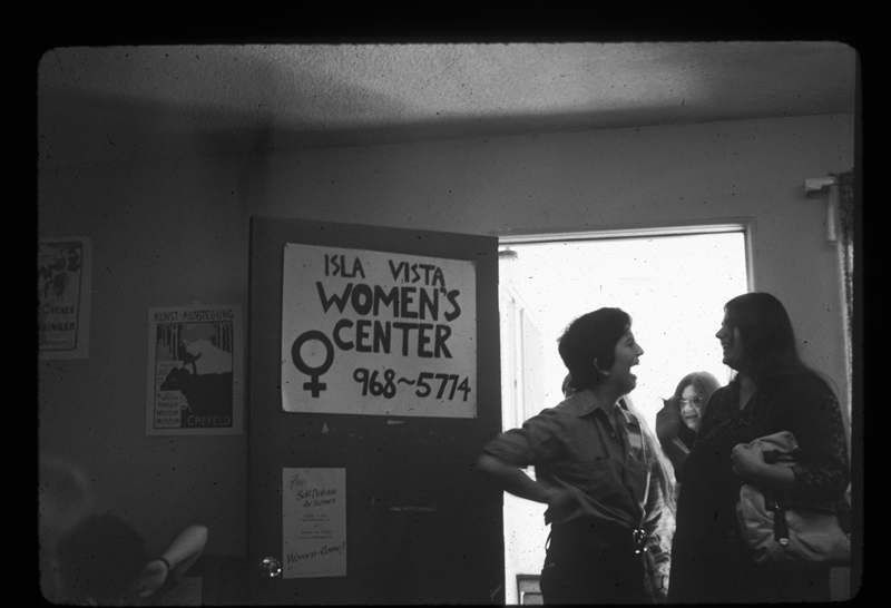 Women at the Isla Vista Women's Center (IVWC). Circa 1975