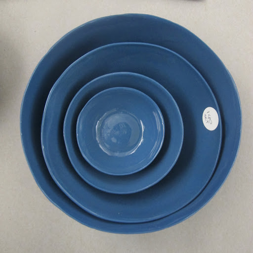 These dishes are also from Marcie, I really like the deep blue.