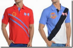 Fashionandyou: Buy 2 Swiss Polo T-Shirt at Rs.388 only