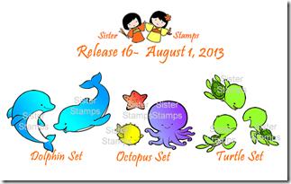 Release 16- sea creatures