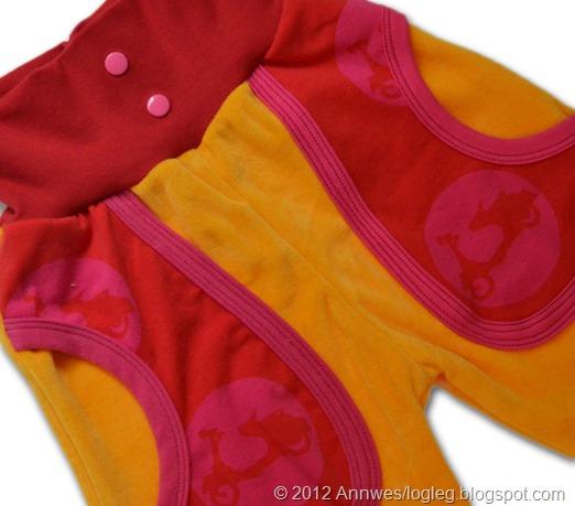 Tøffing-bukse mønster fra Heilt Spesiell og Jubel sy glade klær til glade barn av Kristin Thorsnes og Ane Sund