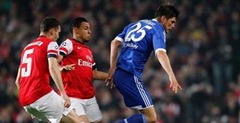 Hasil Arsenal vs Schalke