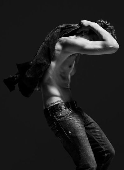 Alexandre Cunha by Nacho Ricci for Bowen London UK S/S 2012 campaign