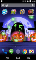 Screenshot of Halloween Live Wallpaper Light